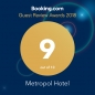 Награда Guest Review Award от Booking.com